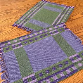 Lilac placemats