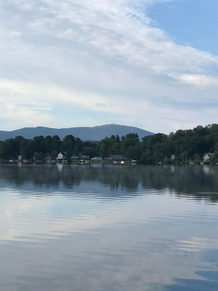 Mt. Monadnock as seen from Harrisville Pond