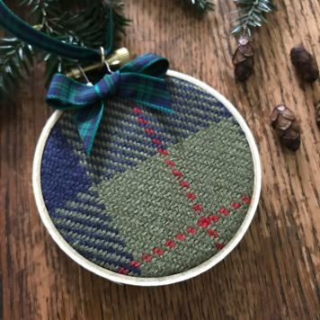 Barclay Hunting tartan ornament