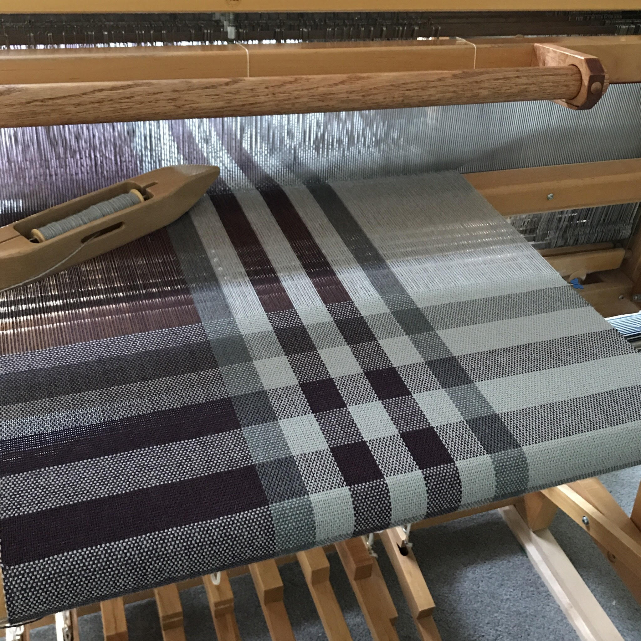 Grey and plum wrap on loom.jpg