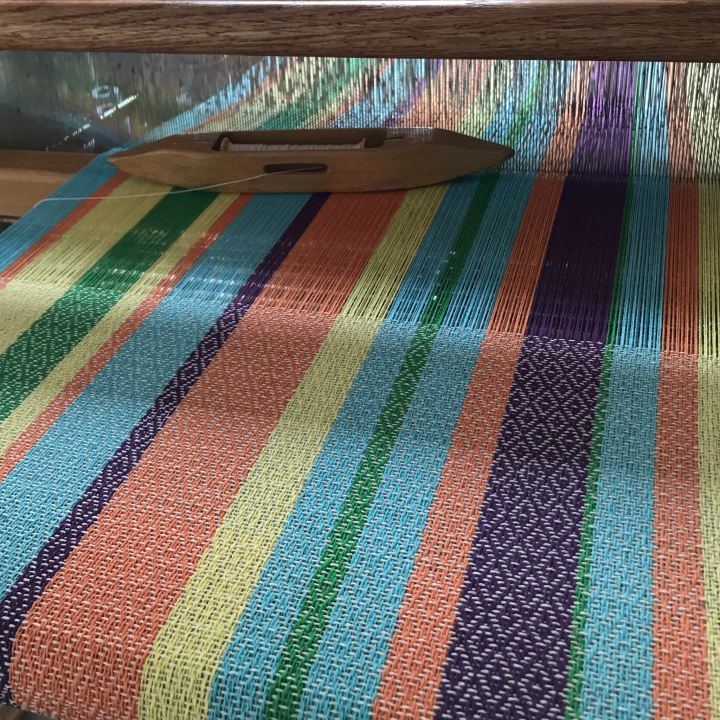 Mardi Gras on loom
