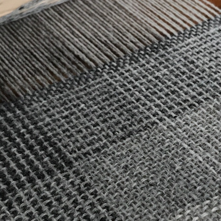 Sampling on the rigid heddle