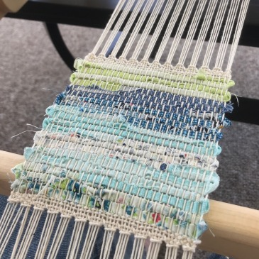 Coasters on loom