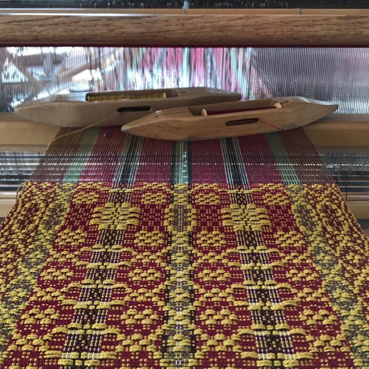 Spring weaving